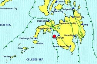 Zamboanga del Sur, niyanig ng Magnitude 4.4 na lindol