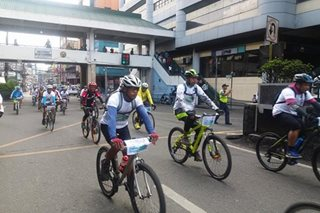 Baguio celebrates first Bicycle Day