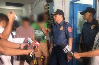 3 arestado sa gang rape umano ng 2 dalagita