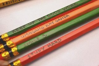 DIY: Paggawa ng 'motivational' pencil