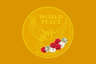 Singapore launches 'World Peace' medallion to mark Trump-Kim summit