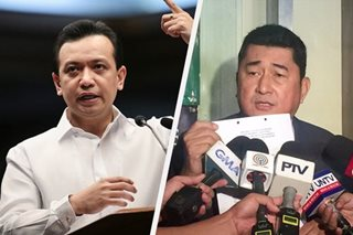 Trillanes faces grave threat rap over 'faceoff' with Labor exec