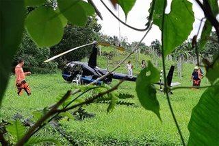 Chopper, bumagsak sa South Cotabato