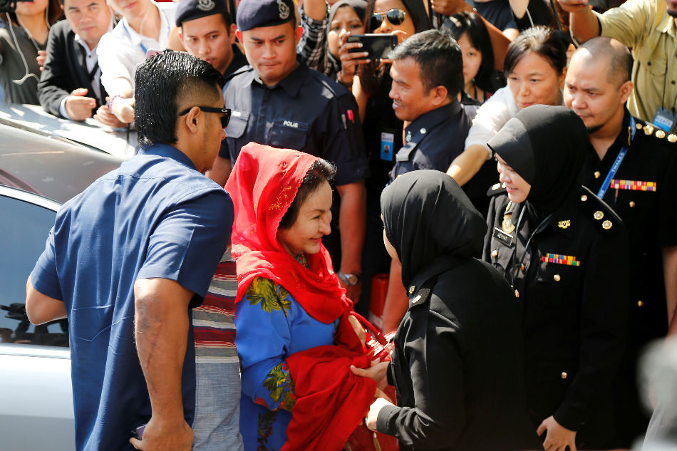 Grilled by anti-graft agents, Malaysia's former first lady