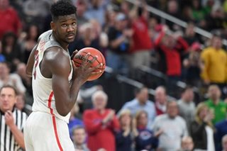 Arizona's Ayton: 'I know I'm going No. 1'