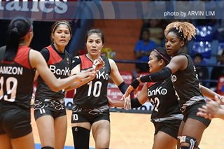 PVL: BanKo-Perlas still in the hunt for bronze after beating Pocari