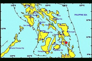 Magnitude 3.6 quake felt in parts of Southern Leyte