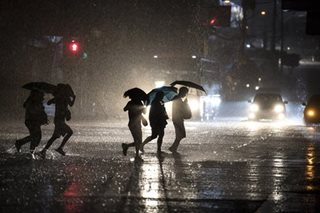 Intense rainfall warning up in Metro Manila, parts of Luzon