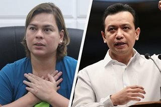 Sara Duterte blasts Trillanes: Leave me alone