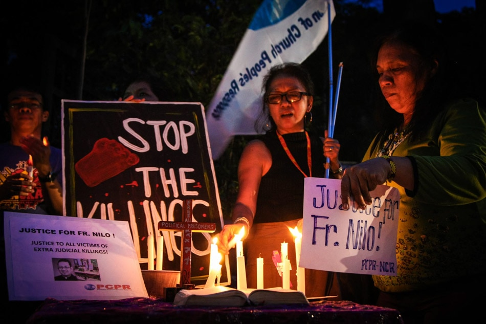 'Justice for Fr. Nilo'