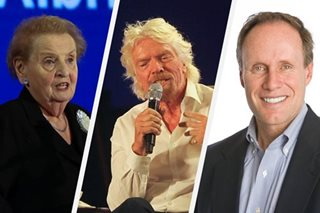 World business leaders share success secrets