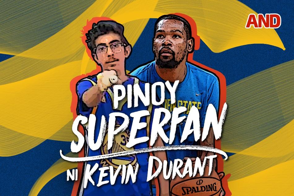 Pinoy superfan ni Kevin Durant