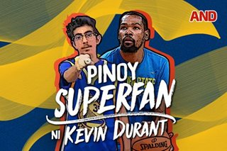 Pinoy superfan ni Kevin Durant