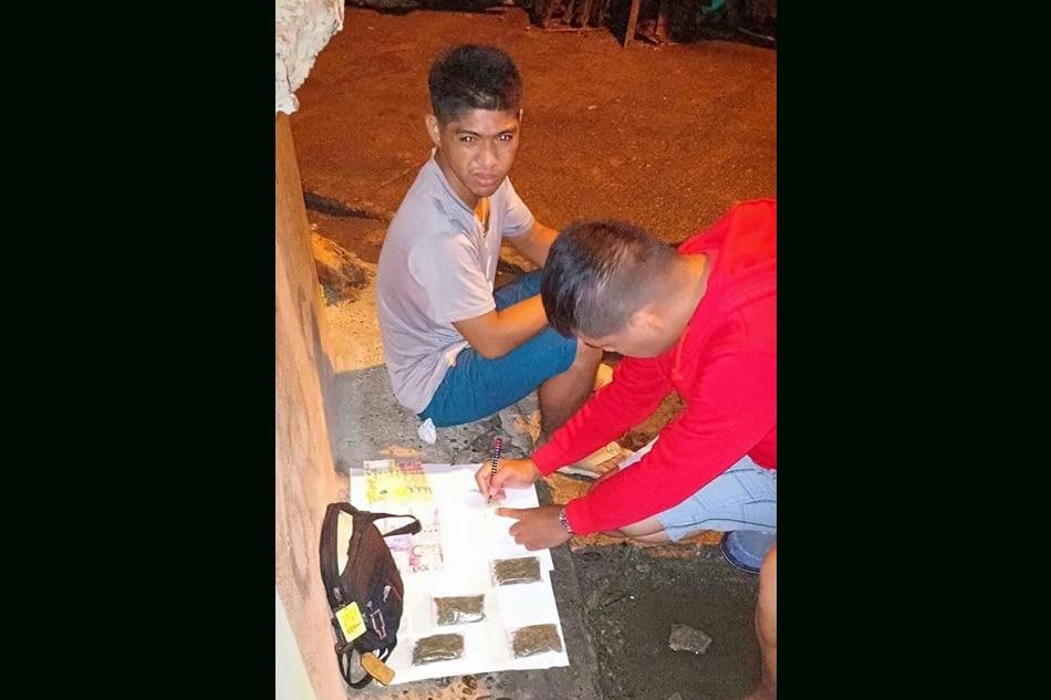 Lalaki arestado sa pagbebenta ng marijuana sa Davao City 1