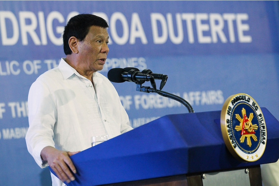 Duterte No Second Chance For Erring Officials