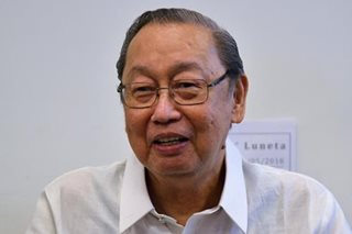 Sison says he has 'absolute protection' from deportation