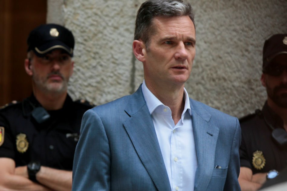 Spain king's brother-in-law starts jail term for