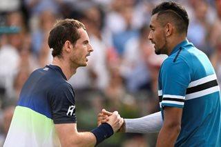 Murray loses on return, Dimitrov sets up Djokovic clash