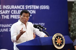 Duterte to 'extortionists' in immigration: One mistake and I will kill you