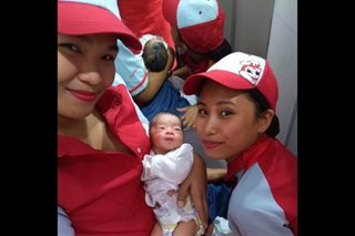 Trending: Newborn found near Jollibee in Cavite, staff initiates breastfeeding