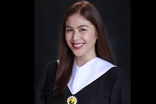 'Finally': Valerie Concepcion graduates from college