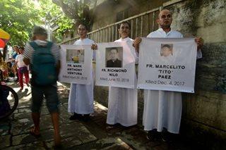 'Stop killing priests'