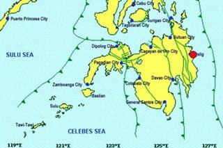 Surigao del Sur niyanig ng lindol