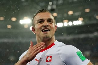 FIFA World Cup: Shaqiri snatches last-gasp win for Swiss over Serbia