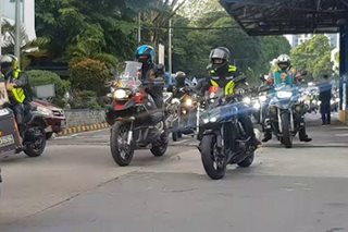 300 motorcycle riders nakiisa sa 'Ride Against Cancer' ng PNP