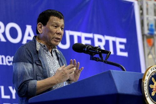 God is stupid? Palace says Duterte has 'personal convictions'