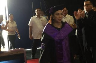 VP Robredo honors parents of graduates: 'This day is also for you'