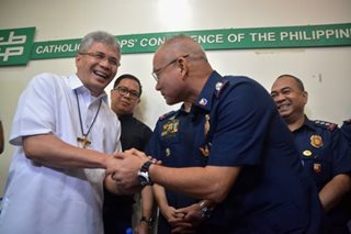 CBCP official meets with PNP chief