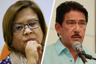 LOOK: Sotto visits De Lima in jail