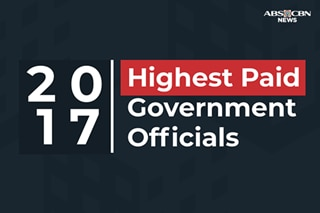 Highest paid government officials in 2017