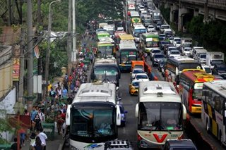 Provincial buses banned from loading, unloading on EDSA after Holy Week