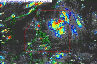 'Florita' strengthens into tropical storm