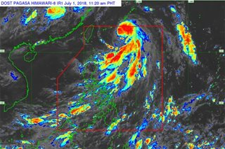 'Florita' now a severe tropical storm