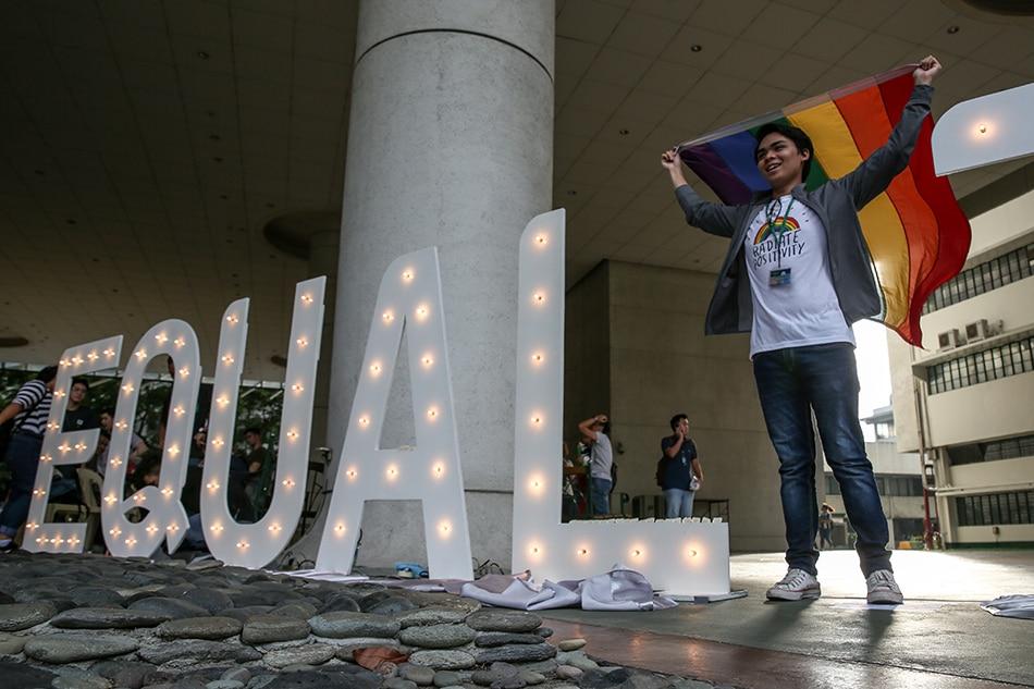 Palace: Duterte in favor of same-sex civil union 1
