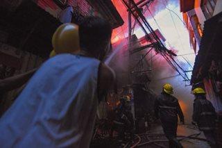 Sampaloc fire displaces hundreds