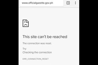170 government websites down due to server problems: DICT