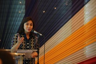 Robredo calls on public: Unite vs killings