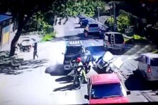 SAPUL SA CCTV: AUV, inararo ang 2 traysikel sa Pampanga