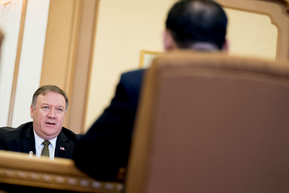 Pompeo urges North Korea's Kim to follow Vietnam's example