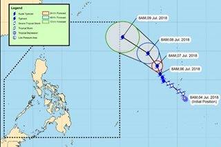 Typhoon 'Maria' to enter PAR by Monday