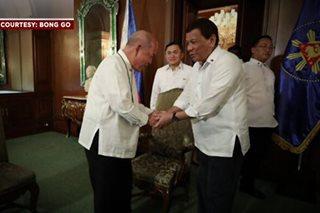 'Duterte di muna magsasalita ukol sa Simbahan'