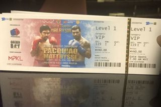 Mga Pinoy sa Malaysia, makakabili ng discounted tickets sa laban ni Pacquiao vs Matthysse