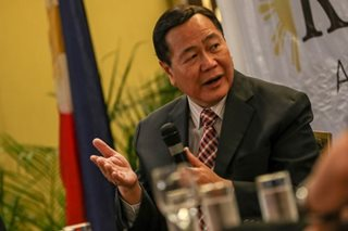 Ex-justice Carpio tapped to boost case vs China's Xi over sea row