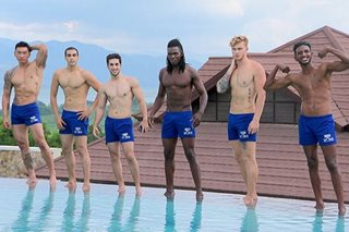 2018 Man of the World candidates, nagpasiklaban sa swimwear