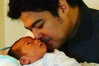 LOOK: Jomari Yllana, girlfriend welcome baby boy