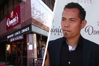 Nonito Donaire opens restaurant in California